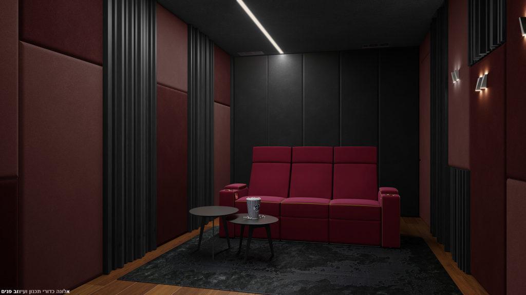חדר קולנוע ALCONS AUDIO ו MOOVIA