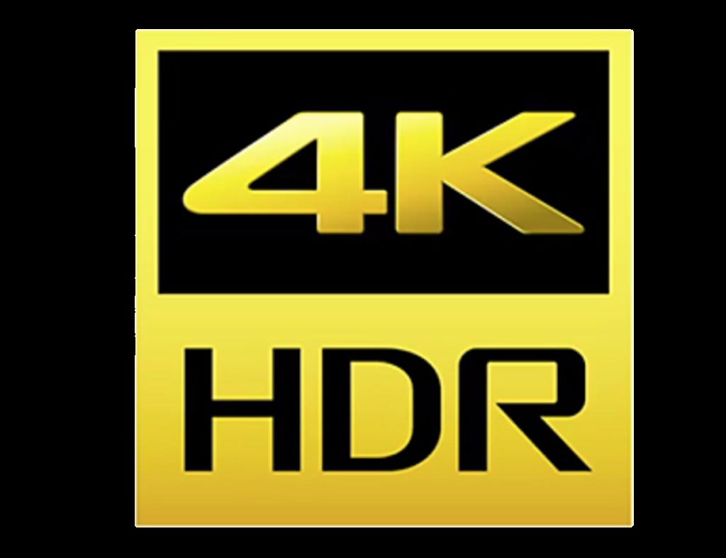 שחור זהב 4K HDR