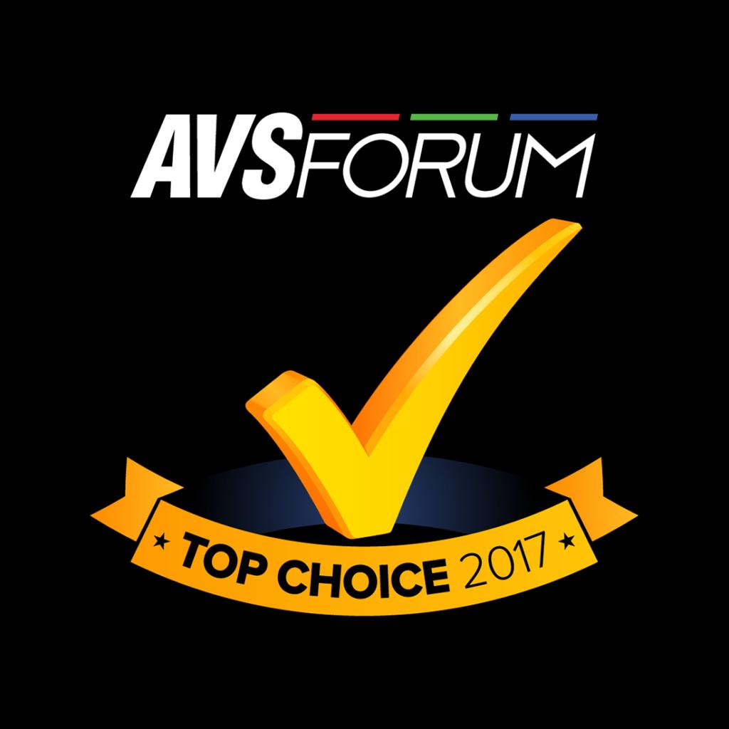 פרס הטוב ביותר של פורום AVS FORUM