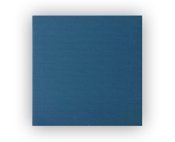 Blue speaker grille from Artcoustic