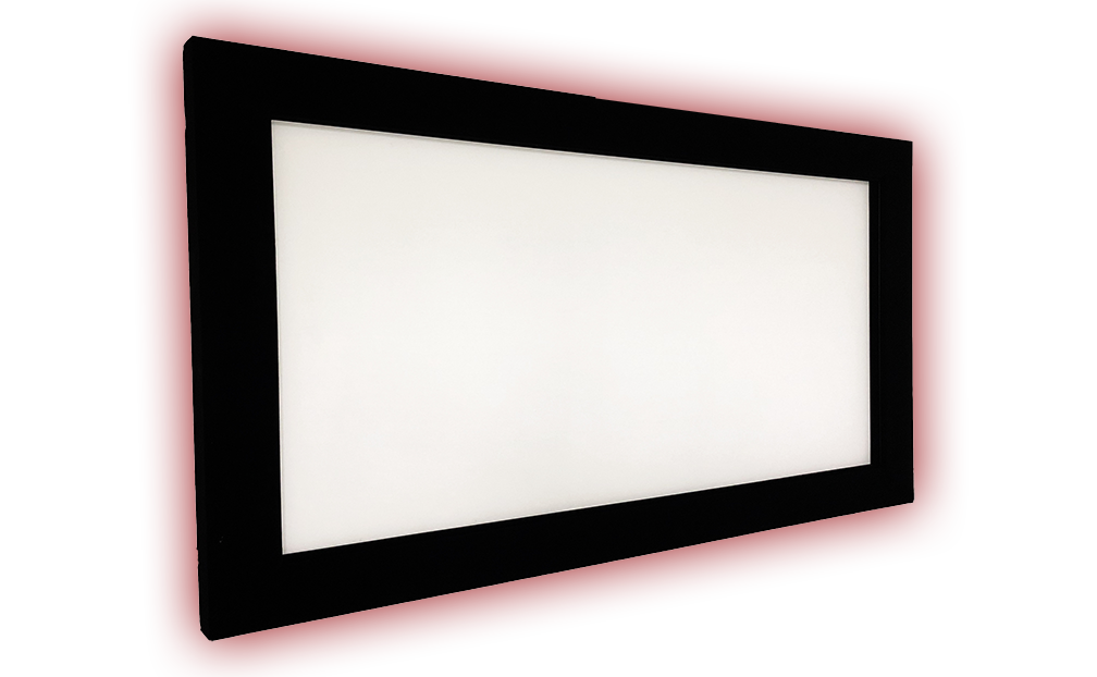 מסך הקרנה קולנוע ביתי ומסחרי של DREAMSCREEN