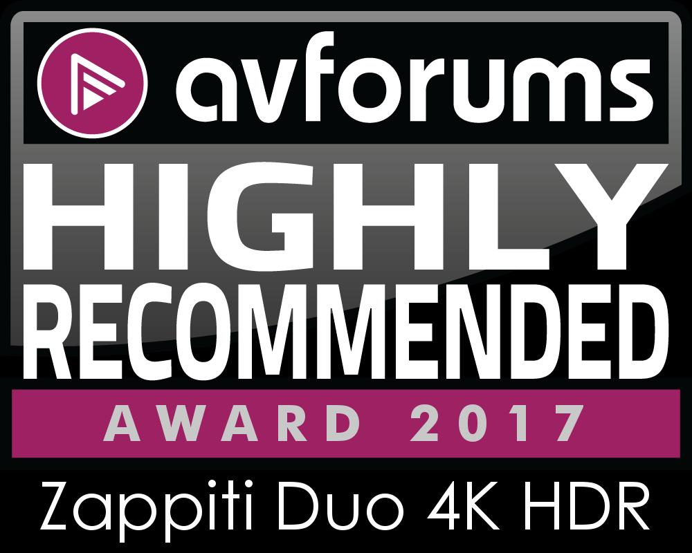 Zappity Avs Forums Award