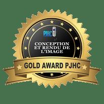 פרס gold award pjhc Zappity homecinema