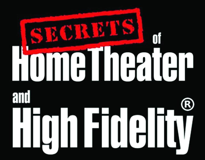 לוגו secrets of home theater and high fidelity