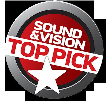 לוגו sound and vision top pick