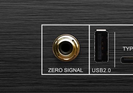 חיבור USB ו RCA ZERO SIGNAL
