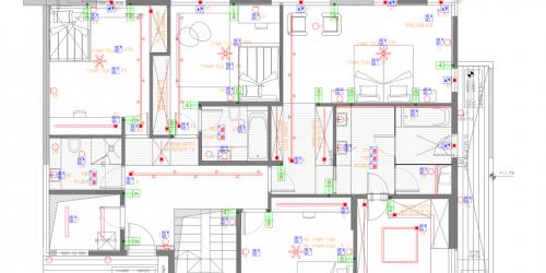 תכנית חשמל חכם אדריכלית
