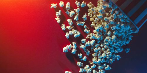 Popcorn-Background