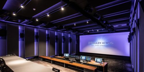 STMPD Mix Studio with DOLBY ATMOS screen